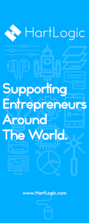 Roll Banner Supporting Entrepreneurs Around The World