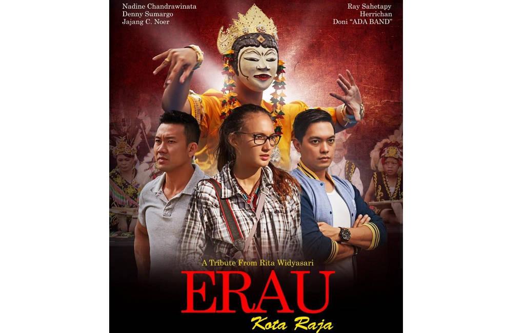 Logo Poster Film Erau Kota Raja