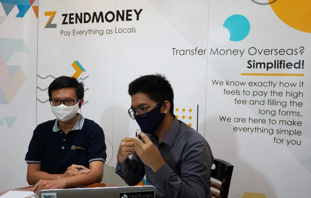 ZendMoney Online Media Launch Moderator Bernhart Farras