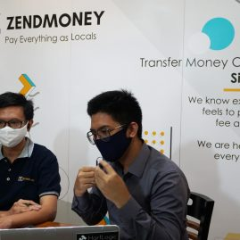 ZendMoney Online Media Launch Moderator Bernhart Farras