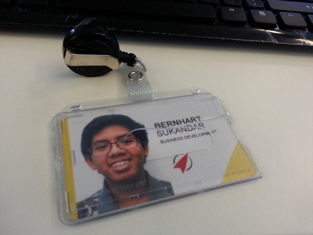 Bernhart Farras Rocket Internet ID Card